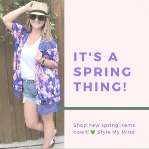 Shop new items for spring 🌸🌸